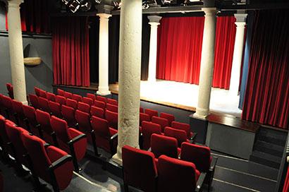 L'interno del Teatro di Palazzo d'Arco