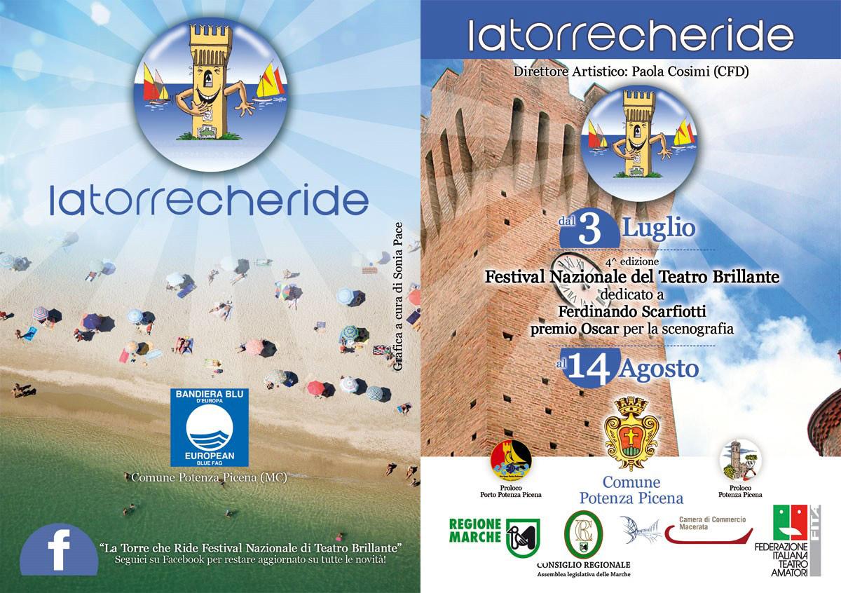 4<sup>&ordf;</sup> edizione Festival Nazionale del Teatro Amatoriale Brillante &ldquo;La Torre Che Ride&rdquo;