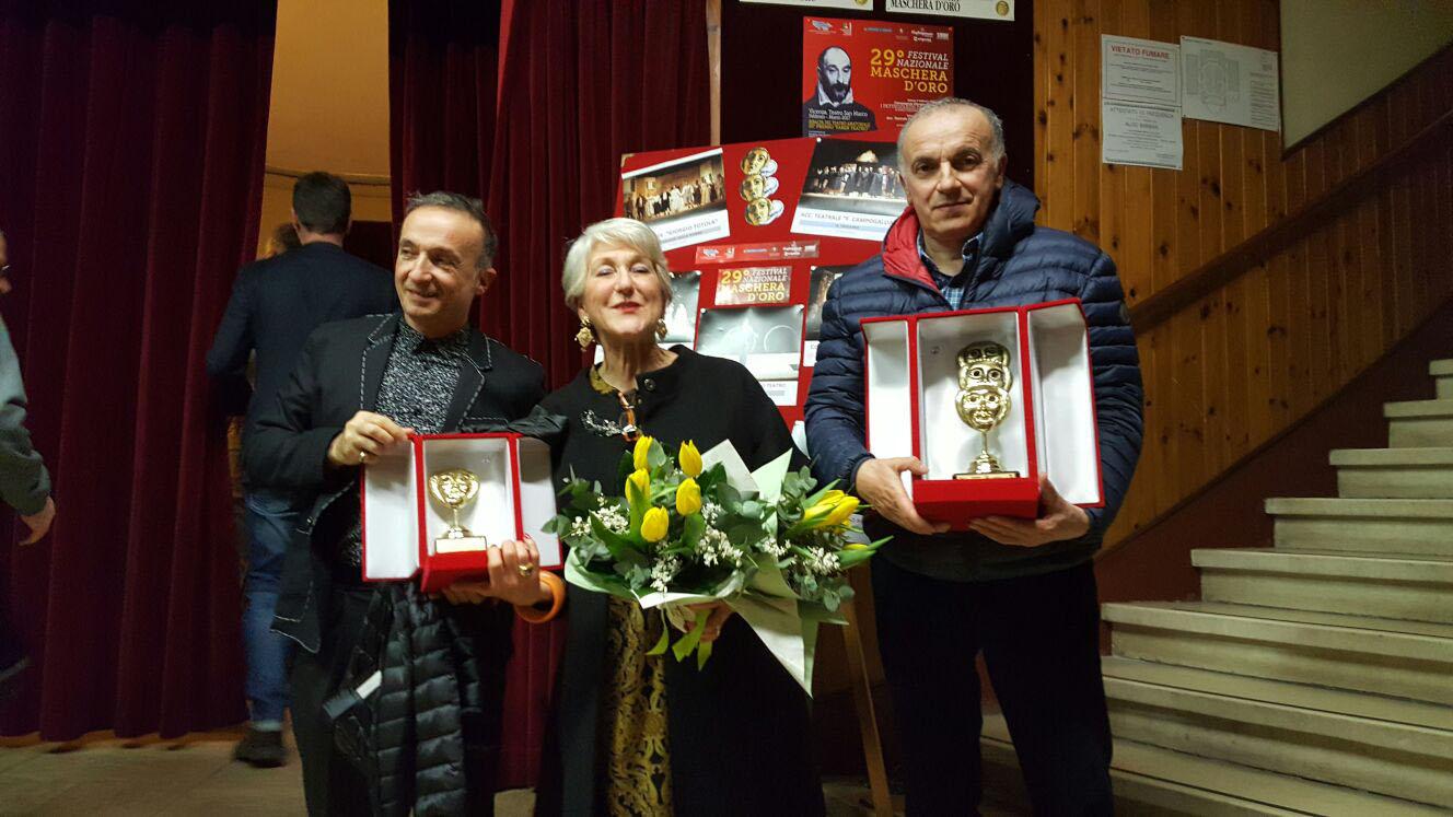 """I primi ottenuti dalla Compagnia Teatrale """"Francesco Campogalliani"""""""