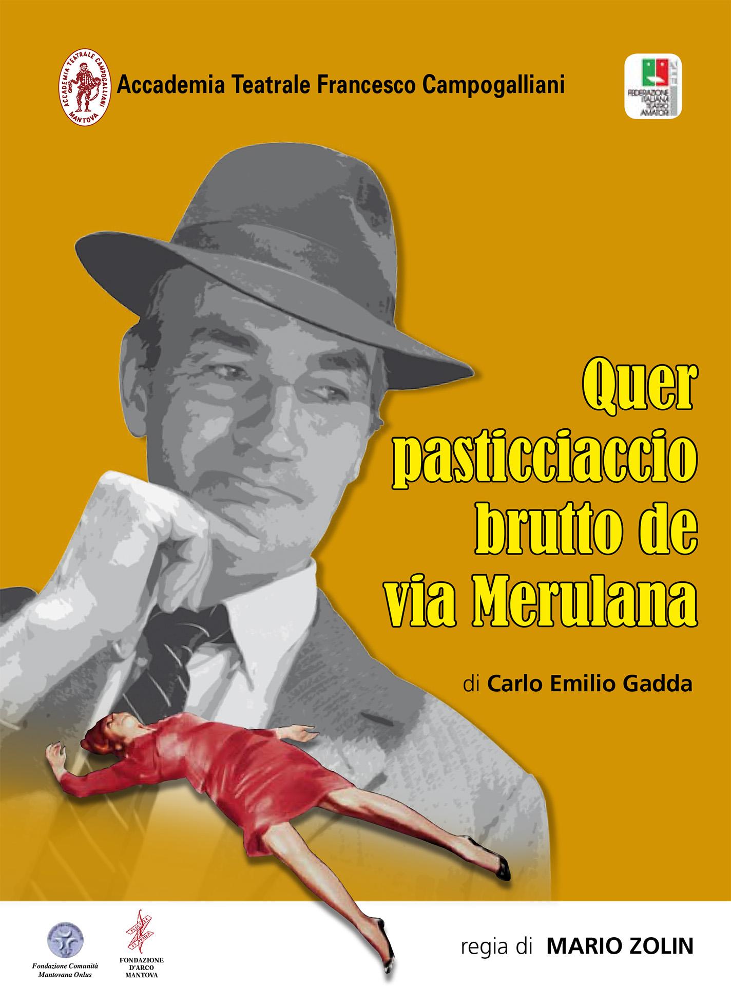 QUER PASTICCIACCIO BRUTTO DE VIA MERULANA