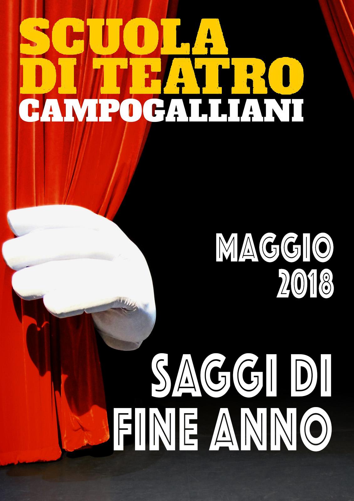SAGGI SCUOLA DI TEATRO FRANCESCO CAMPOGALLIANI