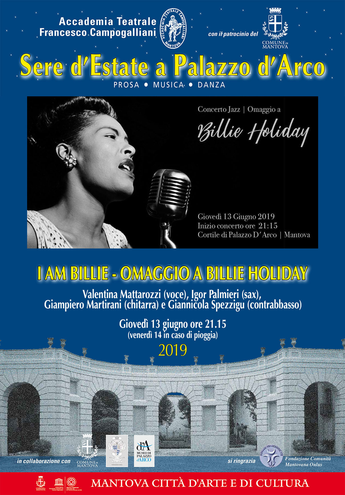 I AM BILLIE: omaggio a Billie Holiday