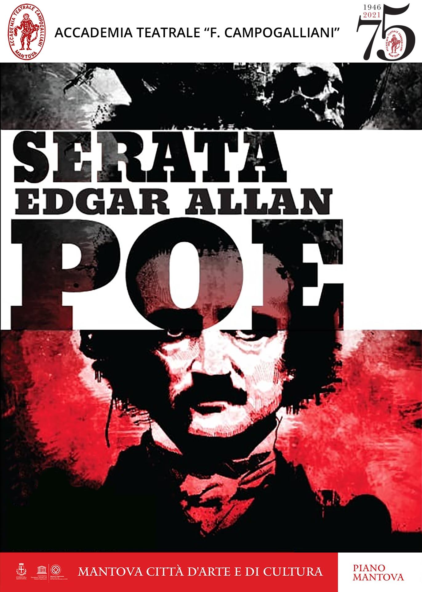Serata Edgar Allan Poe