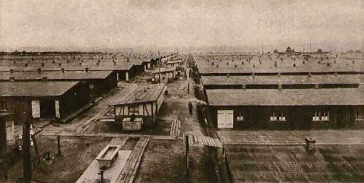 Veduta dello Stalag VIII A di Görlitz