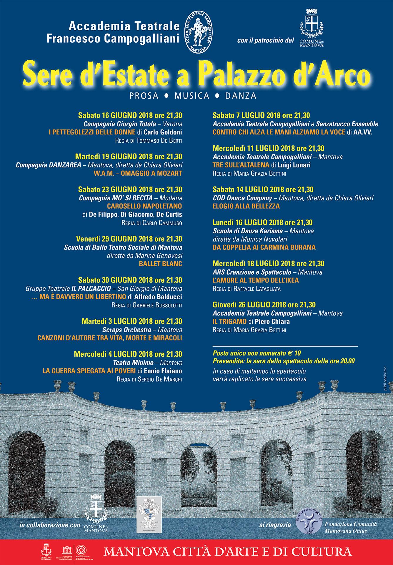 Sere d'Estate a Palazzo D'Arco