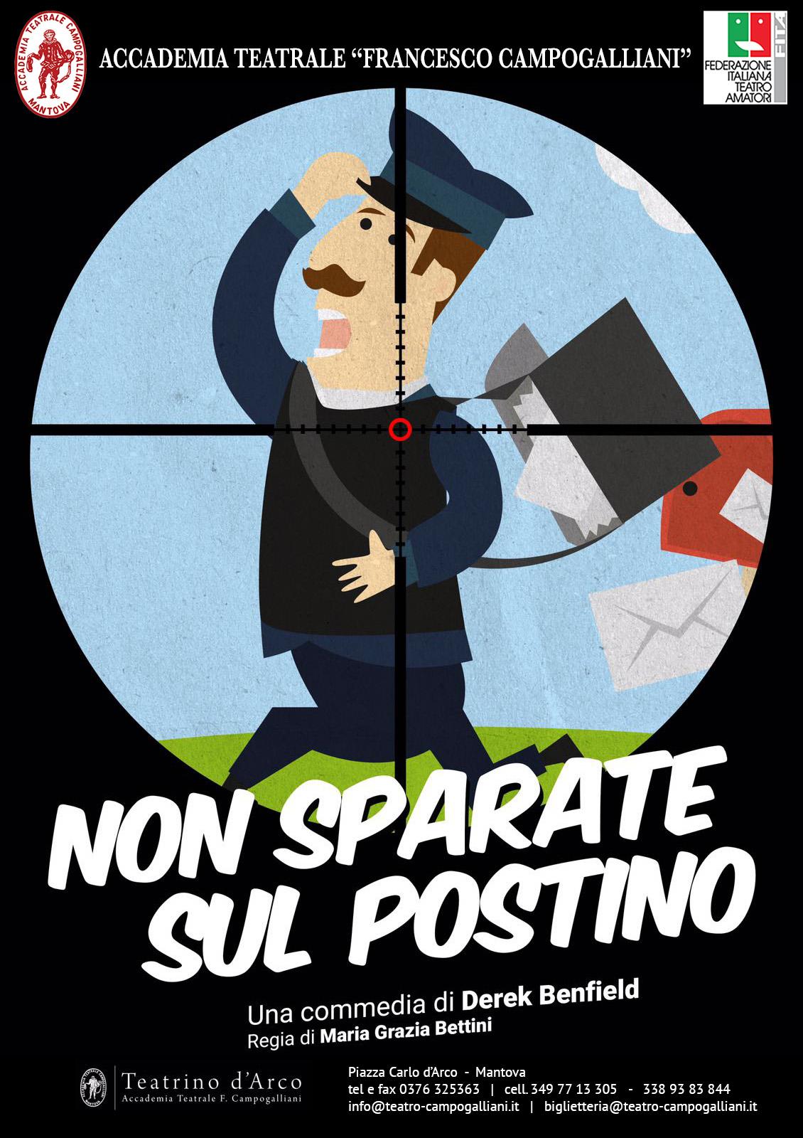 Non sparate sul postino